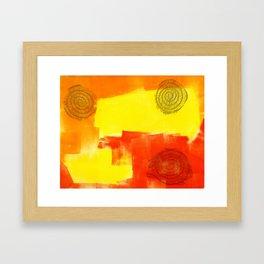Coils Framed Art Print