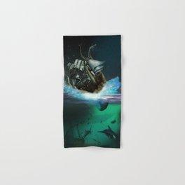 Kraken Attack Hand & Bath Towel
