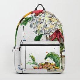 Flowers 1 Backpack