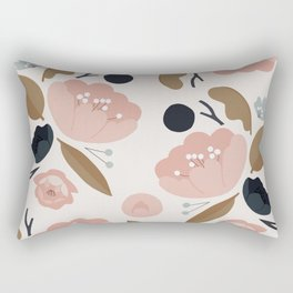 Nature Pattern Rectangular Pillow
