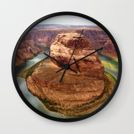 Horseshoe Bend Wall Clock