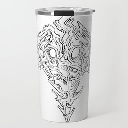 Mask of Warped Sight Travel Mug