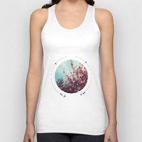 cherry blossoms Tank Tops featuring cherry blossoms by fluidgold