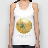 Forsythia Unisex Tank Top