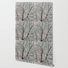 Big Tree In Snow Wallpaper