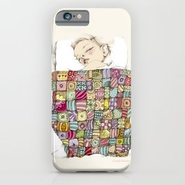 sleeping child iPhone Case