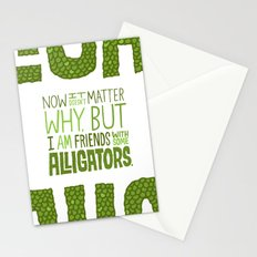 Aligator Friends Stationery Cards