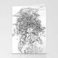 hell Stationery Cards featuring Hell  by Tim Lord Art