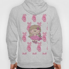 Little Ballerina in Pink Hoody