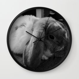 ANOTHER LAZY DAY Wall Clock