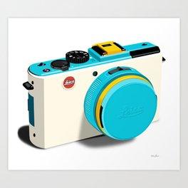 one love.. Leica  Art Print