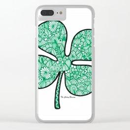 Quadrifoglio Clear iPhone Case