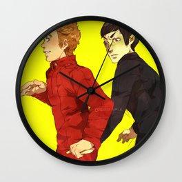 Follow me, Mr. Spock Wall Clock