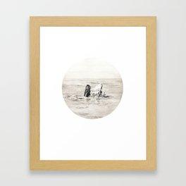GHOST SHIP III Framed Art Print