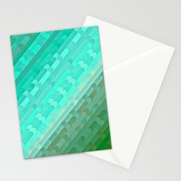 A Sea of Green Stationery Cards