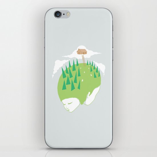We know a place iPhone & iPod Skin