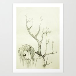 The Burden of Growth Art Print