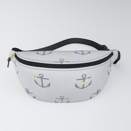 Stormy Nautical Pattern 1 Fanny Pack