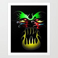 Tatoo-2 Art Print