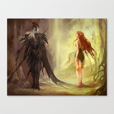 Hades and Persephone (old version) Canvas Print