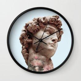 DAVID LOVES ART Wall Clock