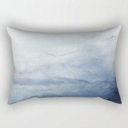 Abstract Indigo No. 2 Rectangular Pillow