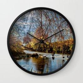 Baden-Württemberg : Water scenery Wall Clock