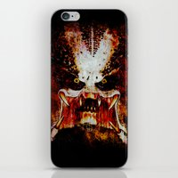 predator iPhone & iPod Skins featuring Predator by Sirenphotos