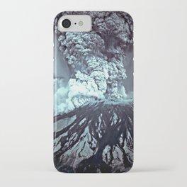 Eruption at Mount St Helens iPhone Case