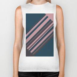 Rose stripes Biker Tank