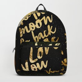 Moon and Back Backpack