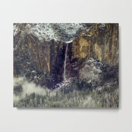 Bridalveil Fall  1-25-18 Metal Print