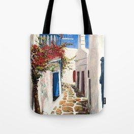Mykonos Town, Greece Tote Bag