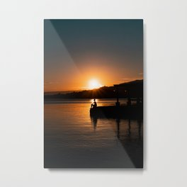 Last Minute Philippine Sunset Metal Print