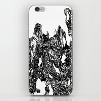 transformer iPhone & iPod Skins featuring Transformer Abstract by Carly And.