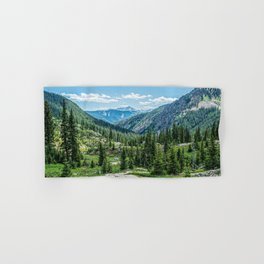 Colorado Wilderness // Why live anywhere else? Amazing Peaceful Scenery with Evergreen Dusted Hills Hand & Bath Towel