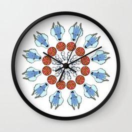 Mononoke Mandala Wall Clock