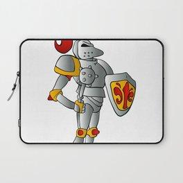 Cartoon knight. Laptop Sleeve