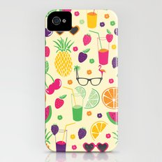 Tropical picnic Slim Case iPhone (4, 4s)