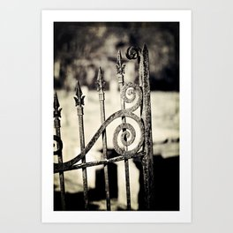 Rusted Whimsy Art Print