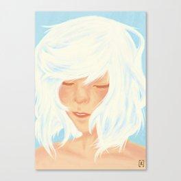 Shiro Canvas Print
