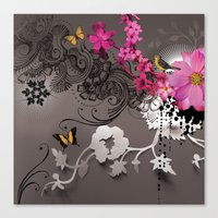 romantic Canvas Prints featuring Romantic by Million Dollar Design