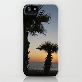 Florida Sunset. iPhone Case