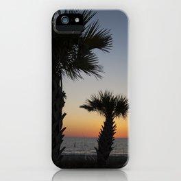 Florida Sunset. iPhone Case