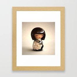 Kokeshi 08 Framed Art Print