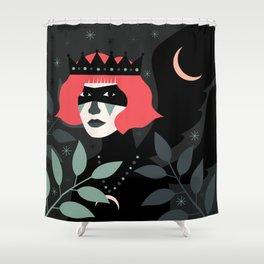 Black-Winged Night Shower Curtain