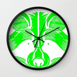 Oso ecologico Wall Clock