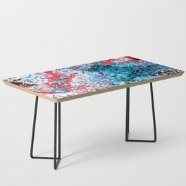 Demonic Toy Poodle Abstract Coffee Table