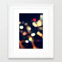 the lights Framed Art Prints featuring Lights  by sasan p