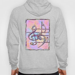 Music Symbols 3 Hoody